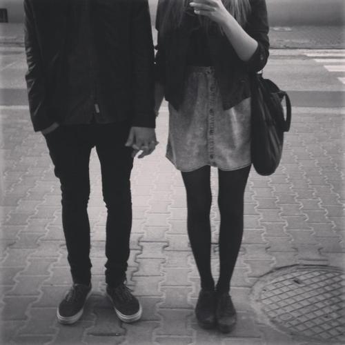 couple bien habillé