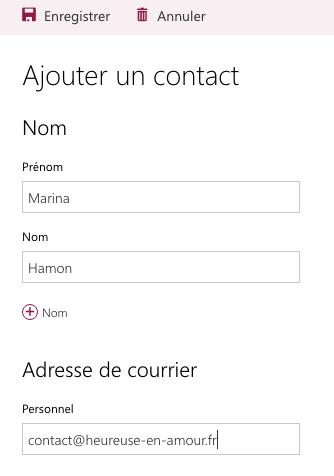 Marina Hamon - Coach en amour et en épanouissement féminin. Adresse de contact.