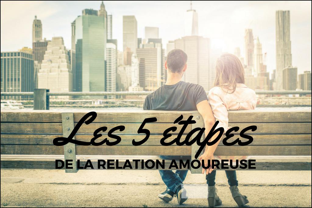 Heureuse en amour- Les 5 étapes de l'amour